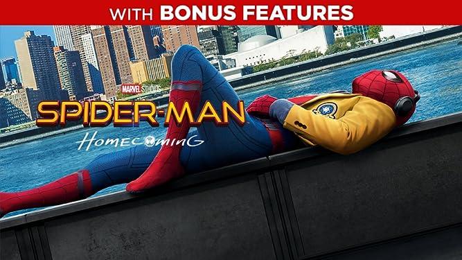 Spider-Man: Homecoming (Plus Bonus Content)