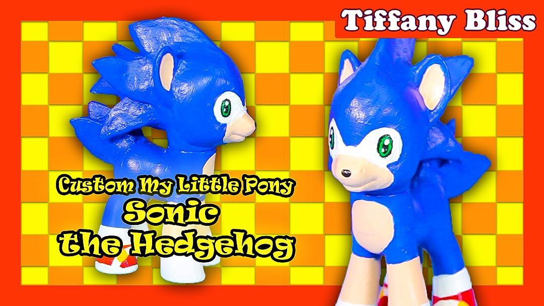 Amazon Com Watch Sonic The Hedgehog Custom My Little Pony Customized Toy Tutorial How To Diy Prime Video