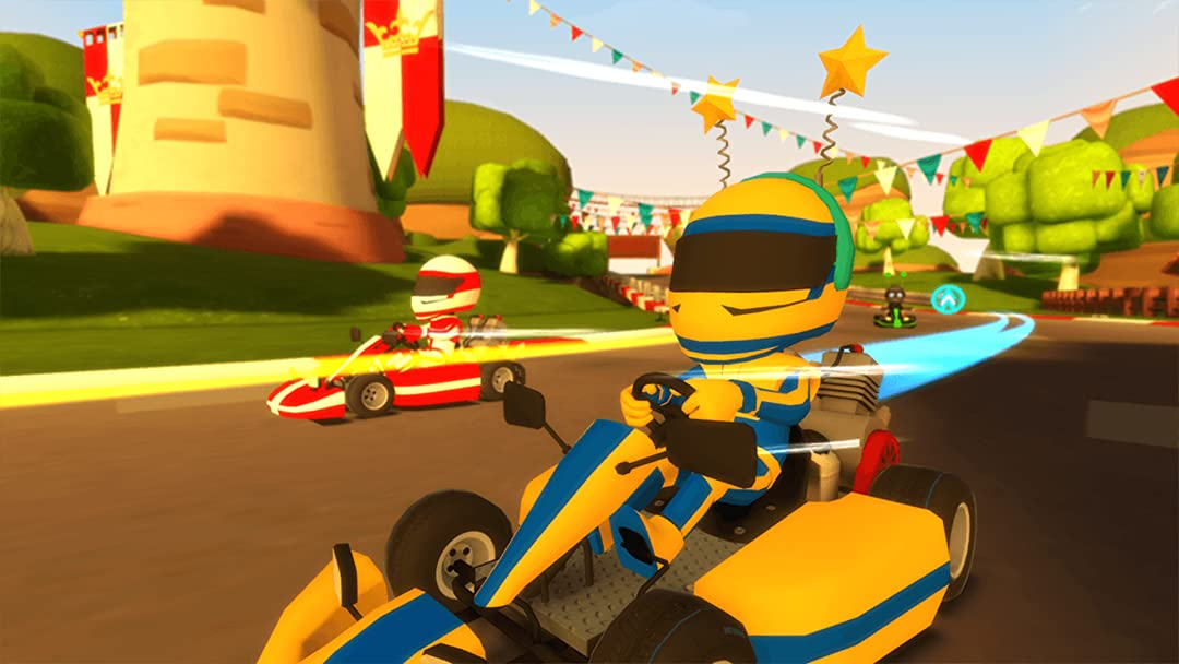 Amazon.com: Watch Clip: VR Karts Playthrough with Brick Show ...