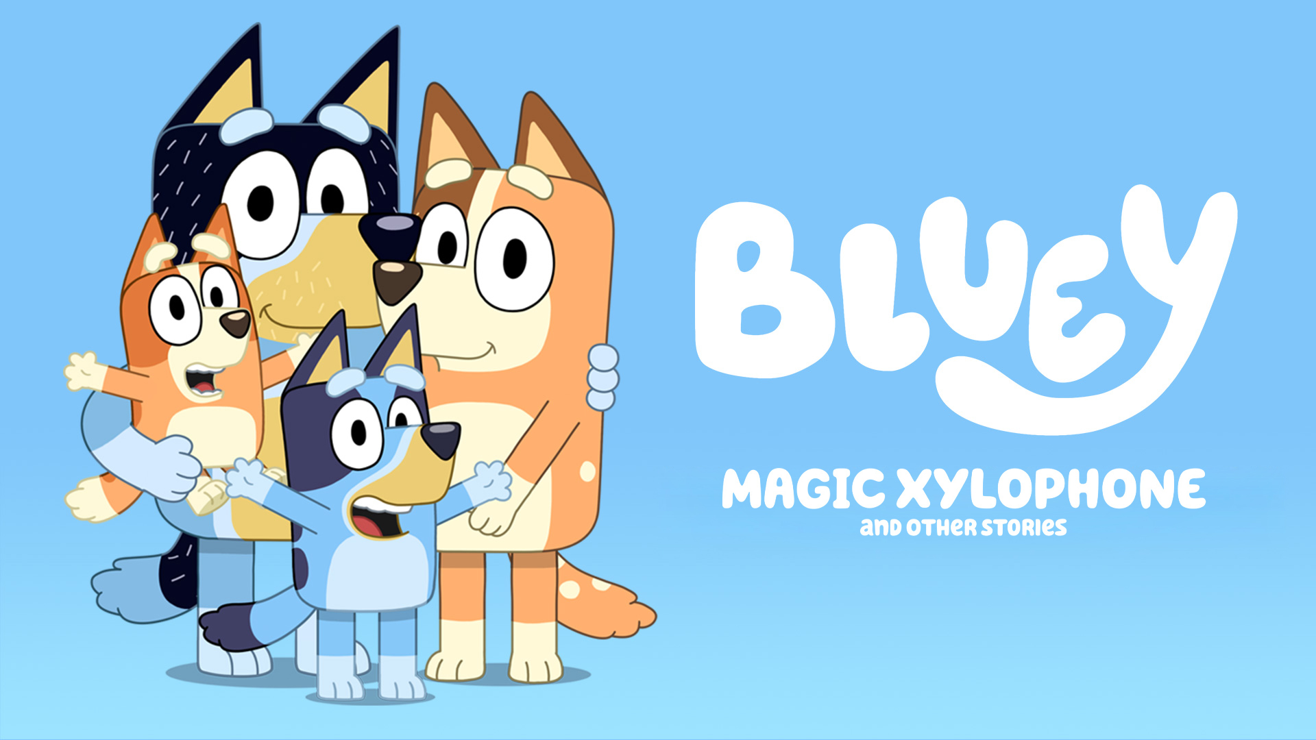 Bluey, Magic Xylophone and Other Stories