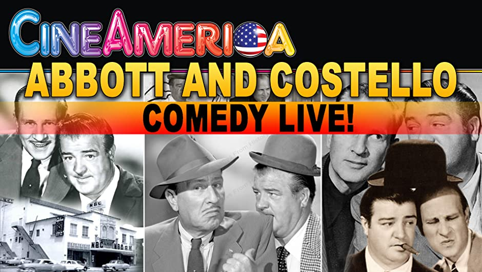 Amazon.com: Abbott and Costello Comedy Live!: Bud Abbott, Lou ...