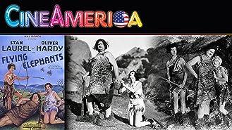 """Laurel and Hardy """"Flying Elephants"""""""