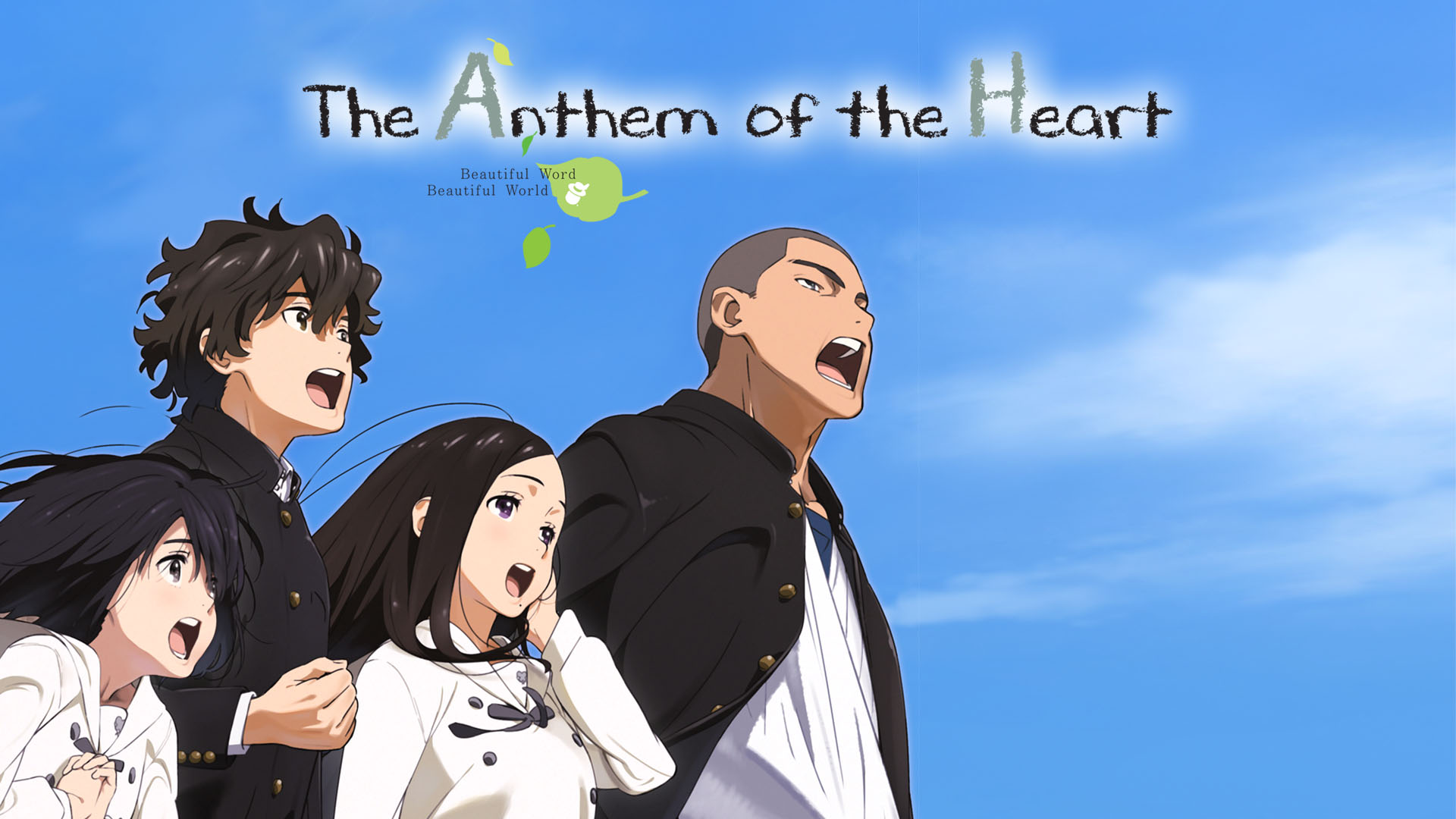 anthem of the heart anime subtitle