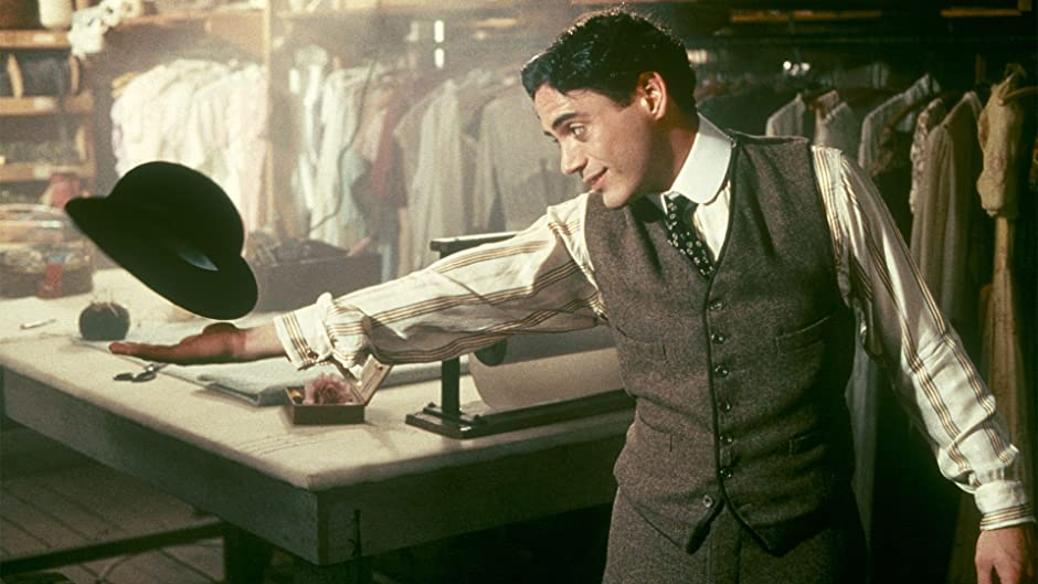 Image result for chaplin 1992 images ending