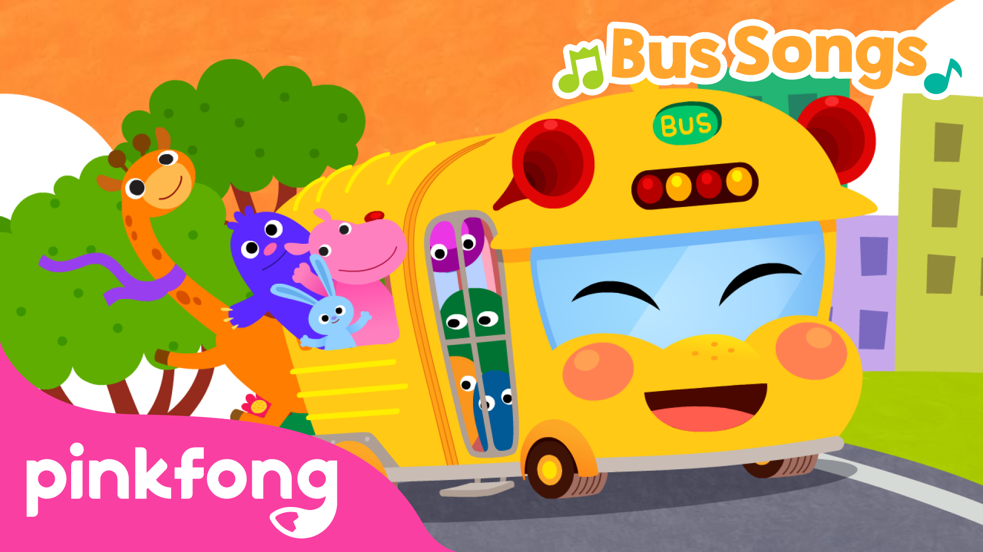 Pinkfong! Bus Songs