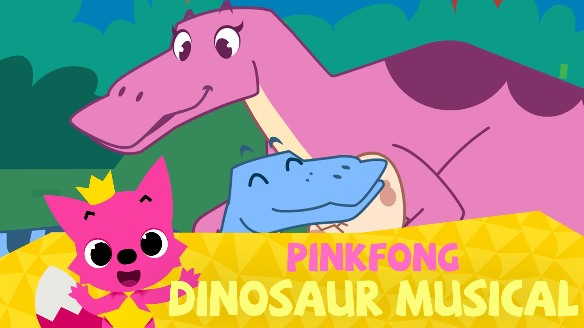 Pinkfong! Dinosaur Musical Stories