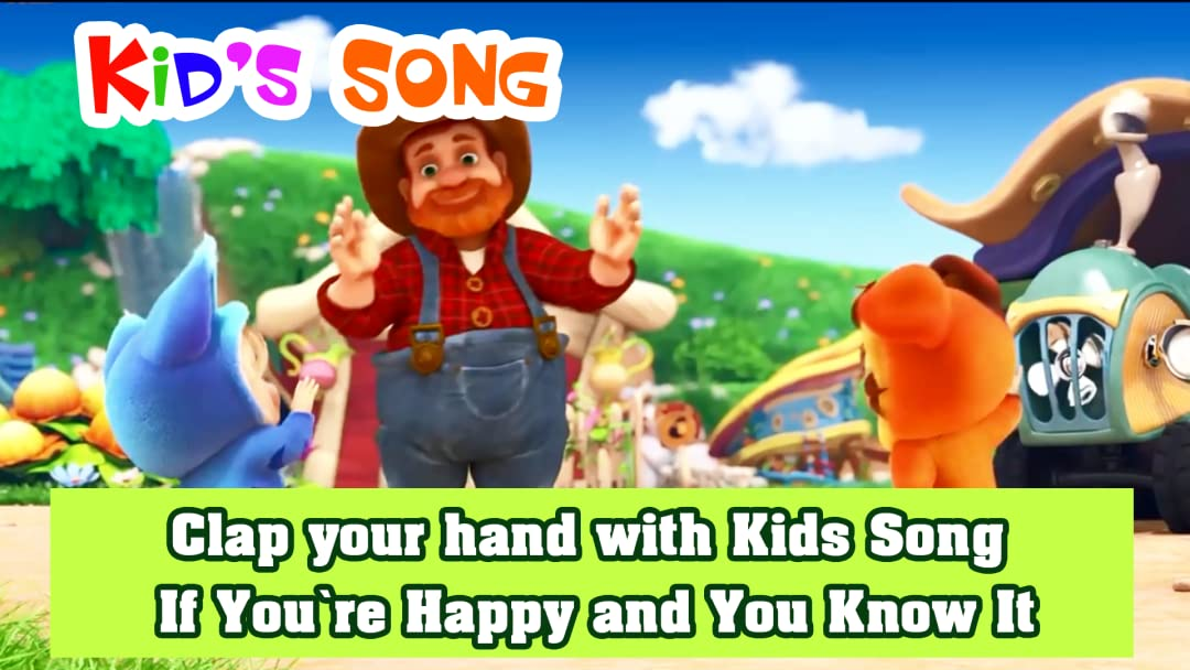 Clap Your Hand With Kids Song If You Re Happy And You Know It Abc Super Kids Alex