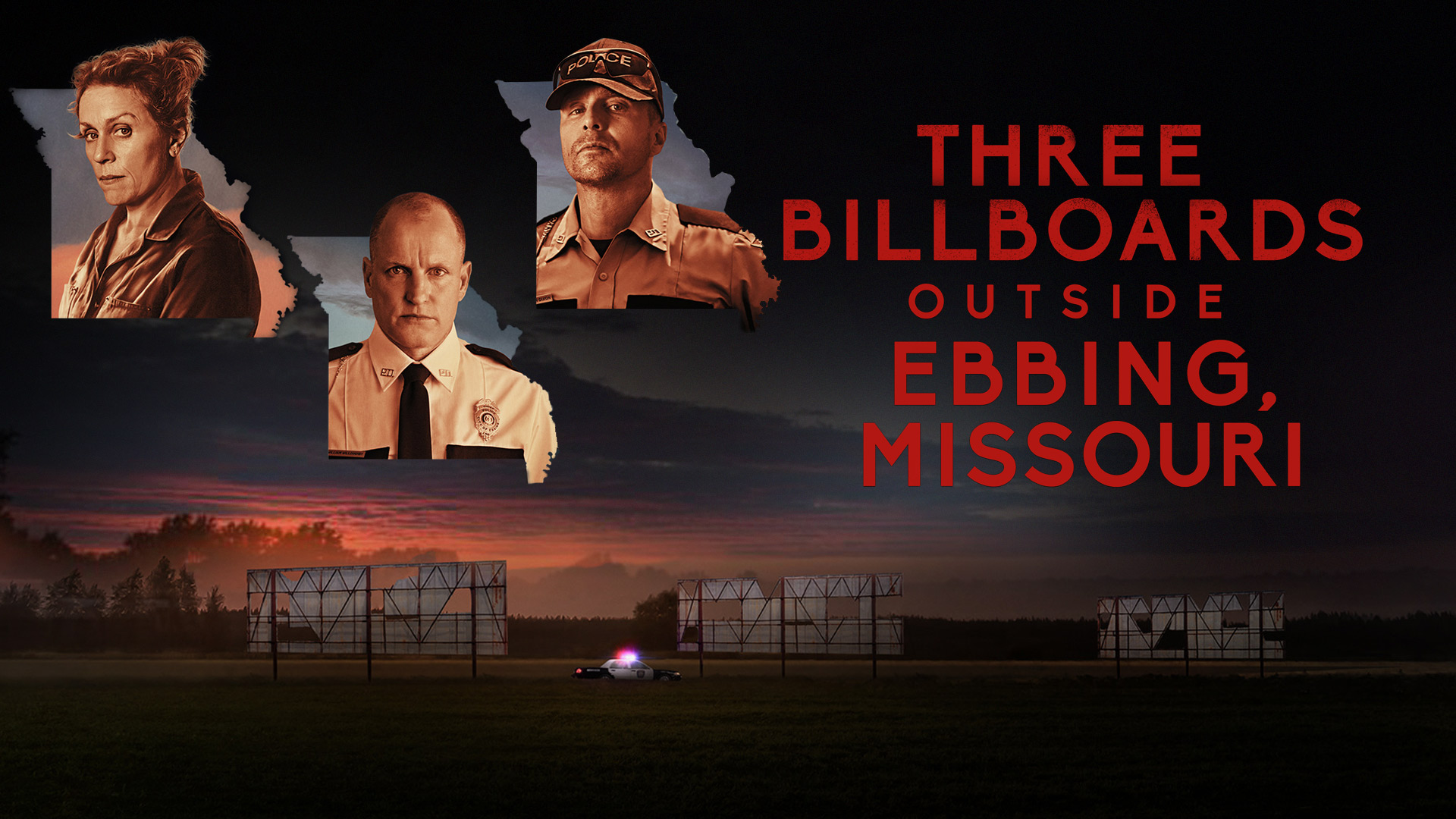 Three Billboards Outside Ebbing, Missouri (4K UHD)