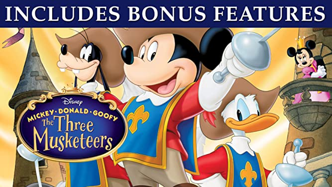 Mickey, Donald, Goofy: The Three Musketeers (Plus Bonus Content)