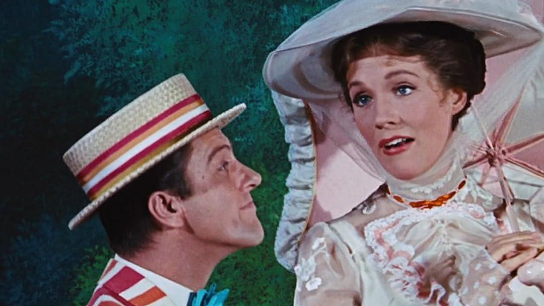 Amazon Com Mary Poppins 50th Anniversary Edition Julie Andrews Dick Van Dyke David Tomlinson Glynis Johns