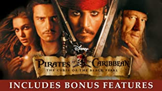 Pirates of the Caribbean: Curse of the Black Pearl (Includes Bonus Features)