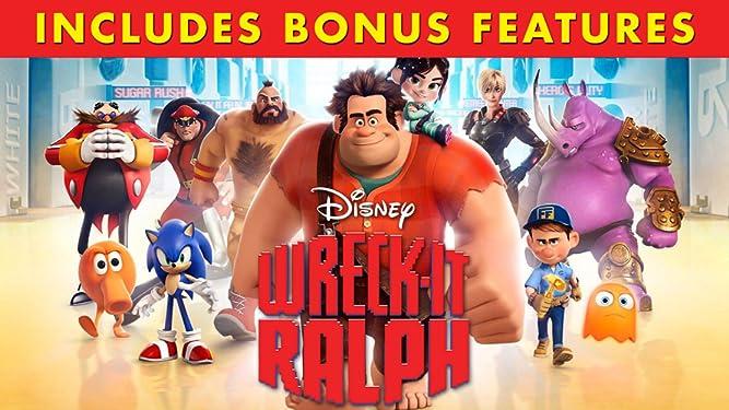 Wreck-It Ralph (Plus Bonus Content)