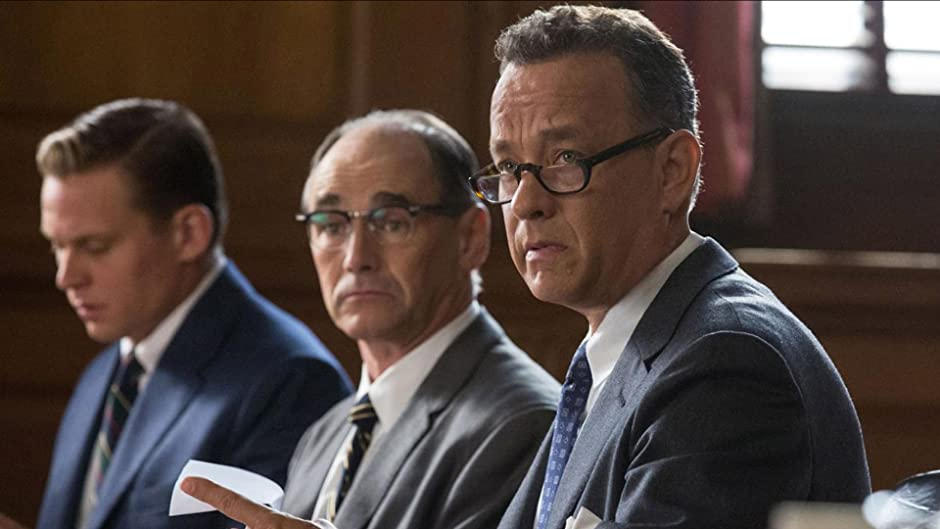 Amazon Com Bridge Of Spies Theatrical Tom Hanks Mark Rylance Scott Shepherd Amy Ryan