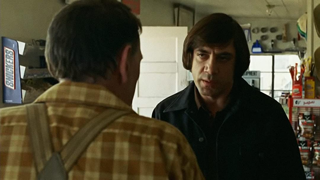 No Country for Old Men Movie T-Shirt Anton Chigurh Coen Brothers Cult Film