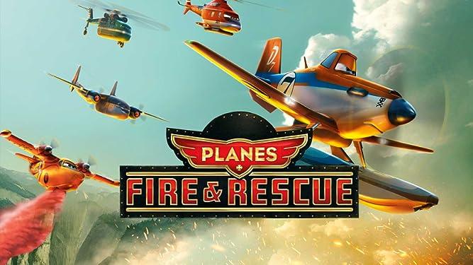 Planes: Fire & Rescue (plus bonus features)