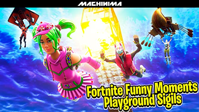 Amazon.com: Watch Clip: Fortnite Playground Funny Moments ...