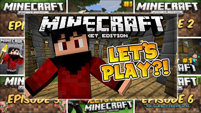Amazon com: Watch Clip: Let's Play Minecraft: Pocket Edition
