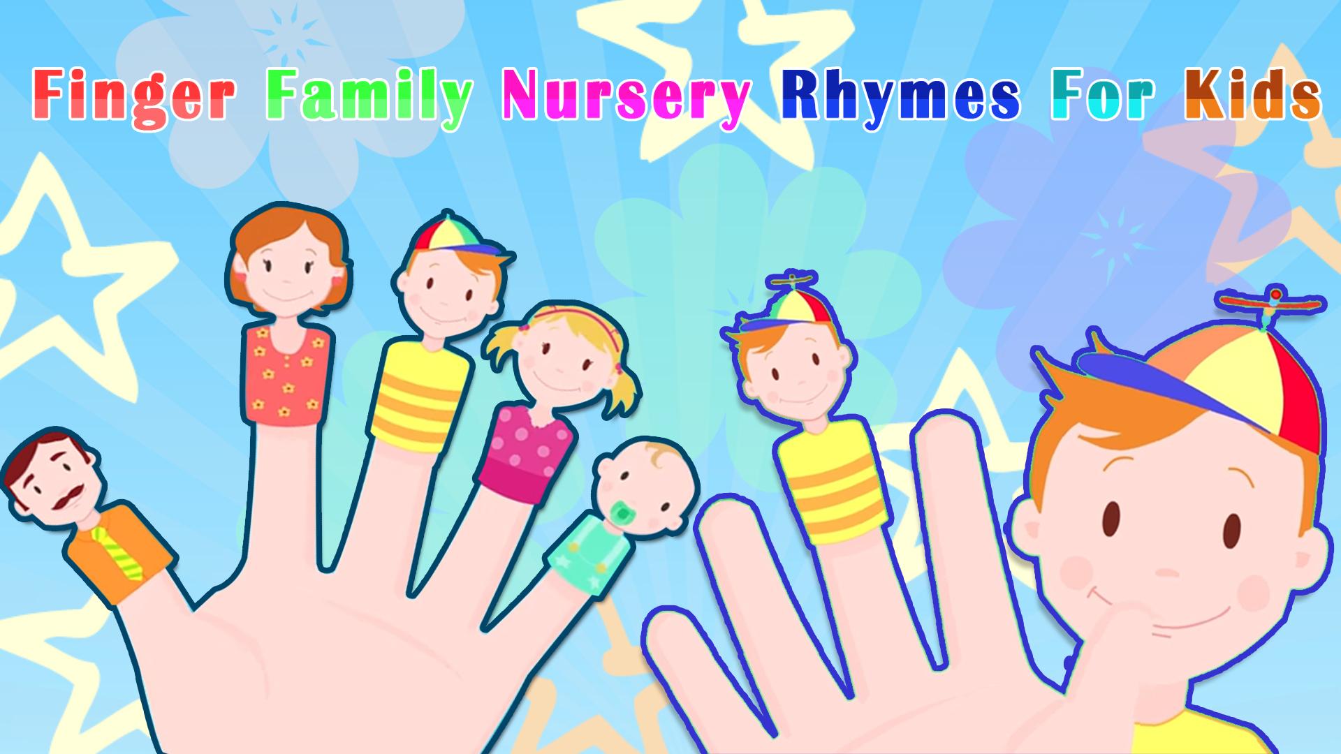 Finger Family Nursery Rhymes For Kids