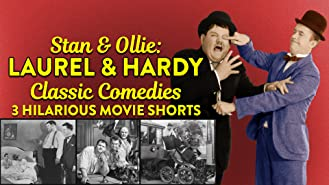 Stan & Ollie: Laurel & Hardy Classic Comedies - 3 Hilarious Movie Shorts