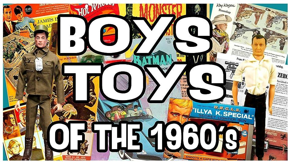Amazon Com Boys Toys Of The 1960 S George Bonilla Anthony Hudson