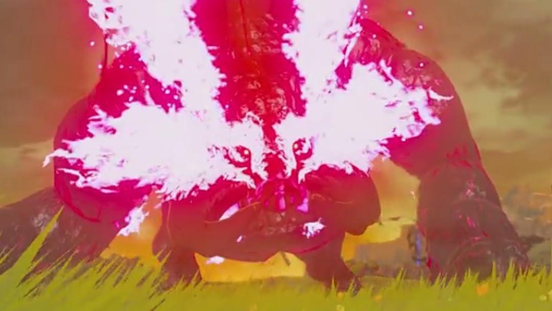 Watch Clip Legend Of Zelda Breath Of The Wild With Bricks