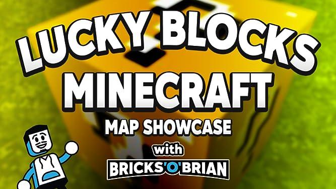 Amazon com: Clip: Lucky Blocks Minecraft Map Showcase with