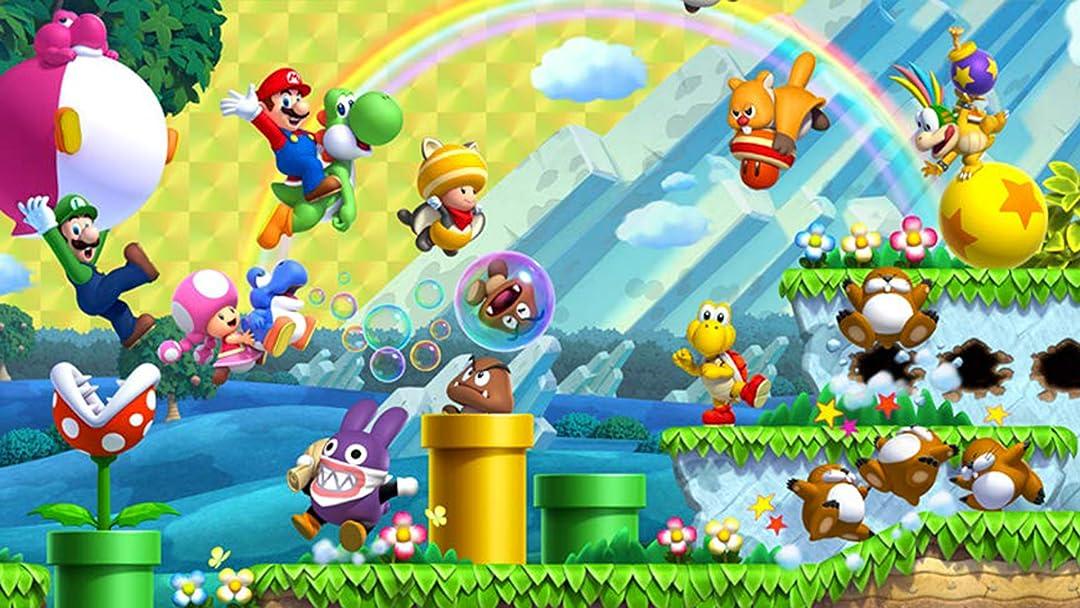 Amazon Com Watch Clip New Super Mario Bros U Deluxe With Bricks