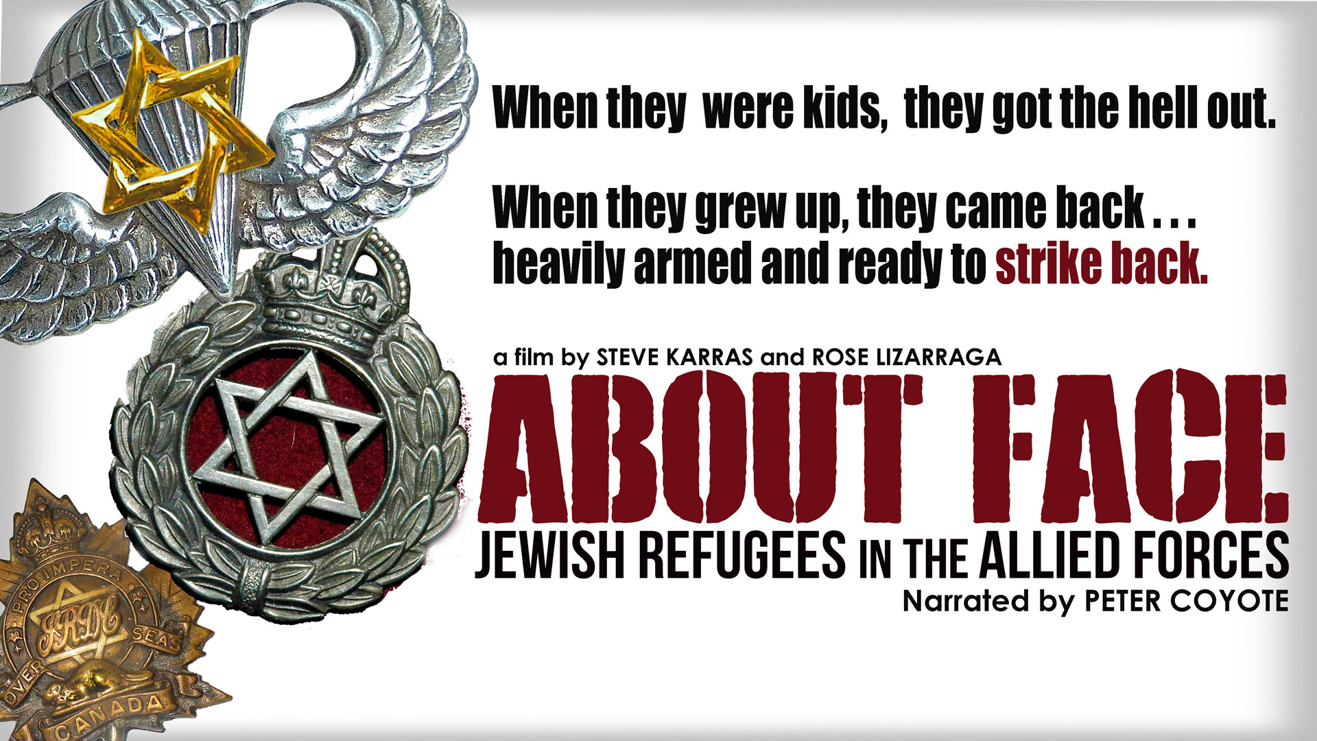About Face: Jewish Refugee Soldiers in the Allied Forces