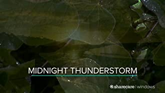 Midnight Thunderstorm for Sleep 9 Hours