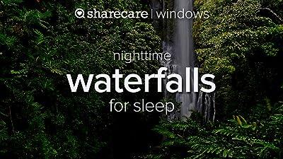 Nighttime Waterfalls for Sleep