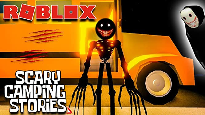 Camping Like Games Roblox Watch Clip Roblox Scary Camping Stories Prime Video