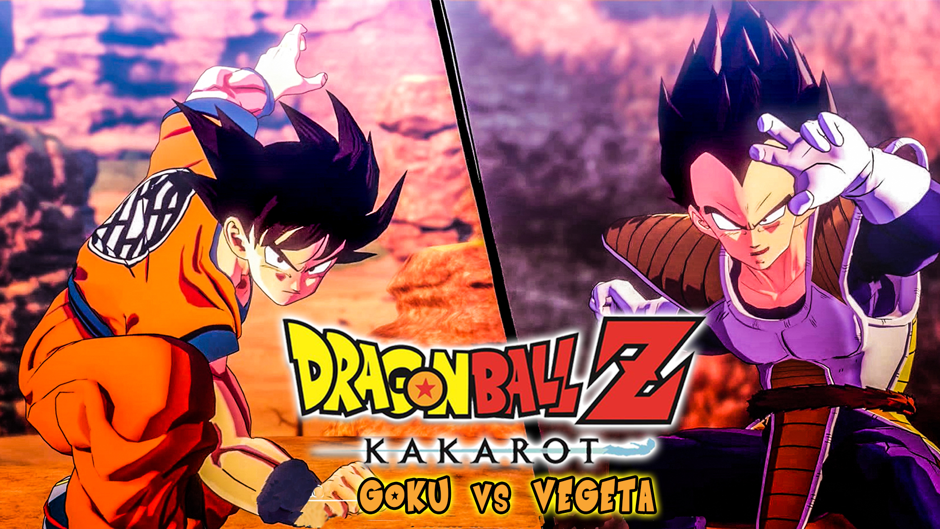 Watch Clip Dragon Ball Z Kakarot Gameplay Pt 2 Goku Vs Vegeta Prime Video