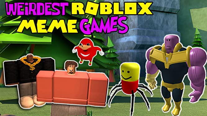 Meme Game On Roblox Watch Clip Weirdest Roblox Meme Games Prime Video