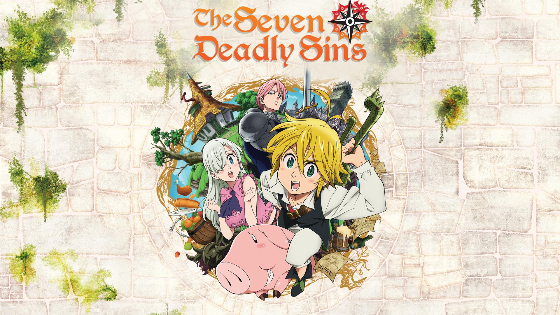 The Seven Deadly Sins, Season 1, Part 1