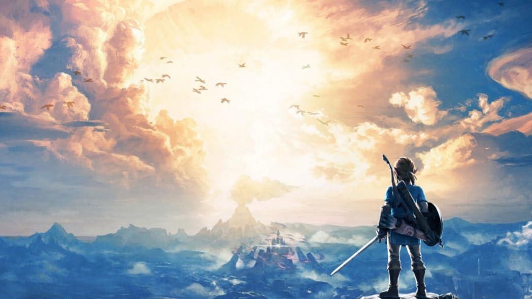 Watch The Legend Of Zelda Breath Of The Wild With Zelda