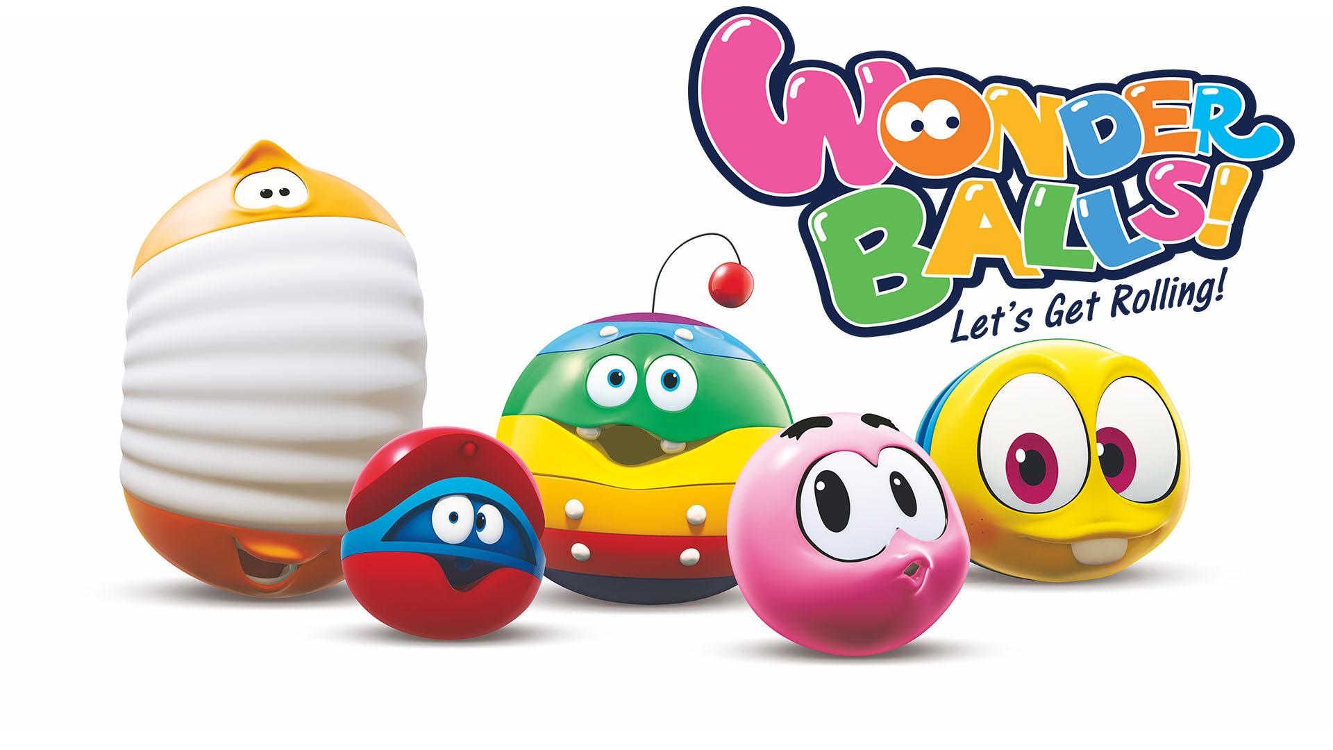 WonderBalls! Let's Get Rolling!