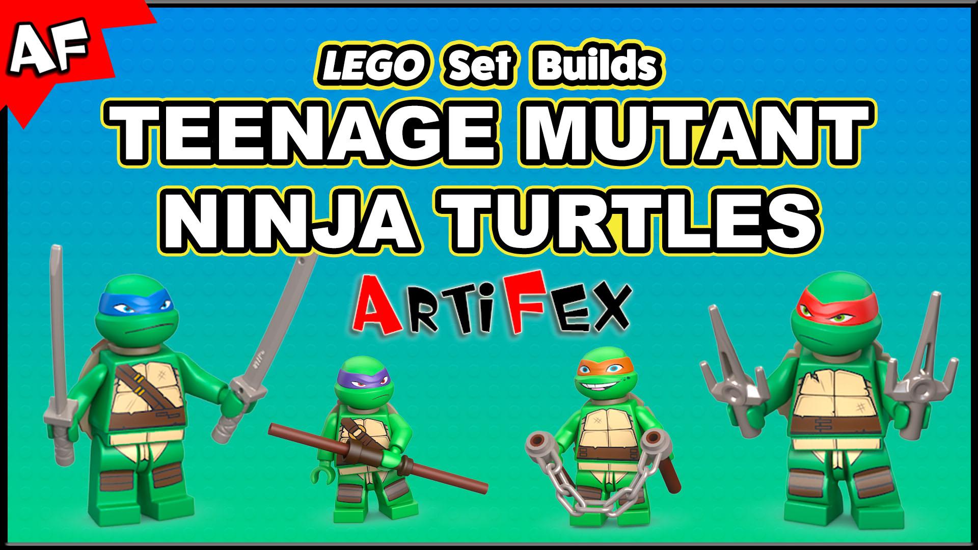 Watch Review: Teenage Mutant Ninja Turtles Mega Bloks ...