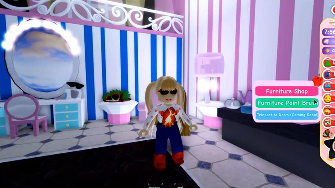 Dollhouse Roleplay Roblox - Amazoncom Clip Royal High Little Carly Roblox Adventure