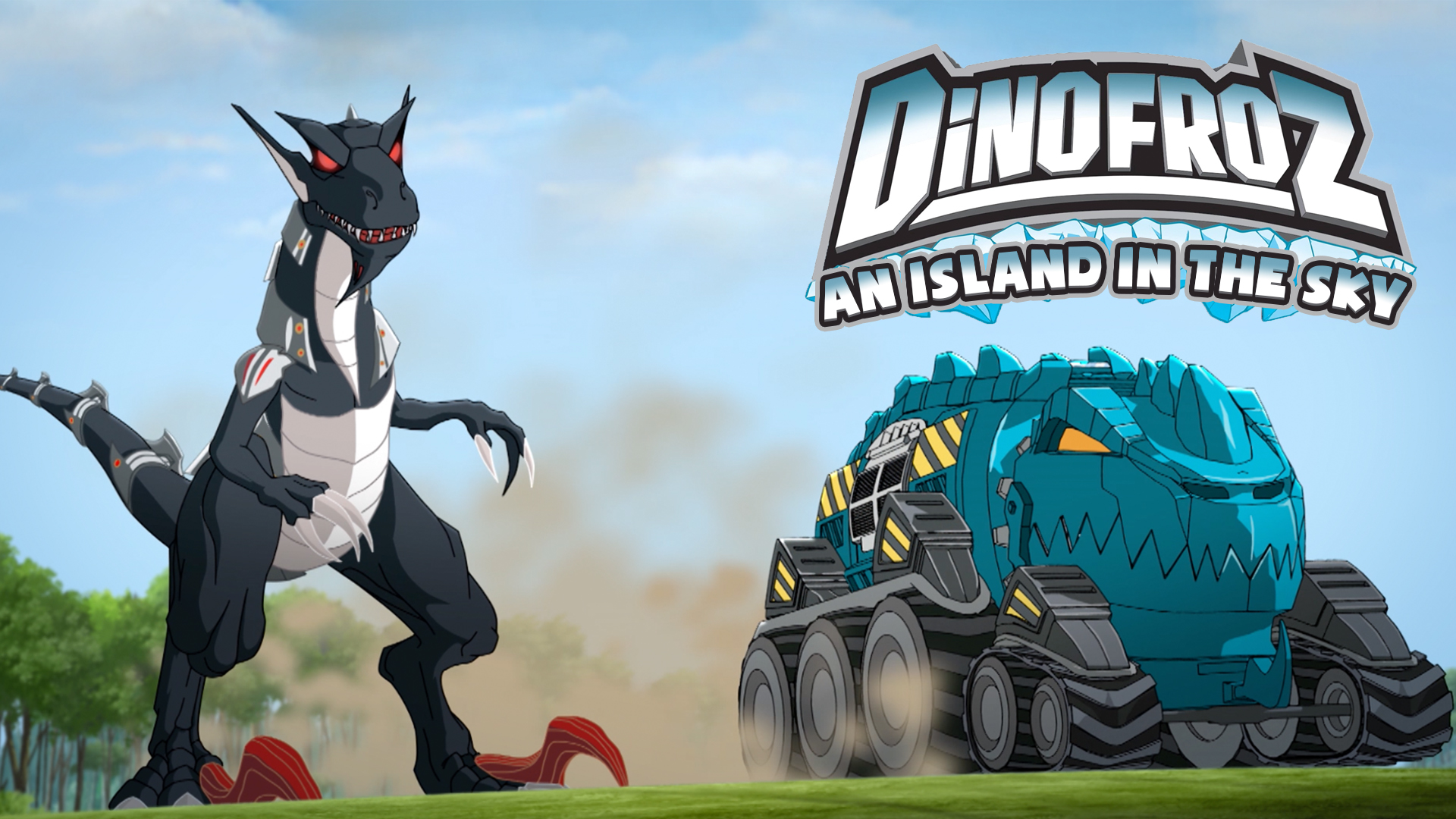Dinofroz: An Island in the Sky