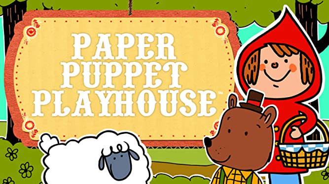 Paper Puppet Playhouse - Super Simple