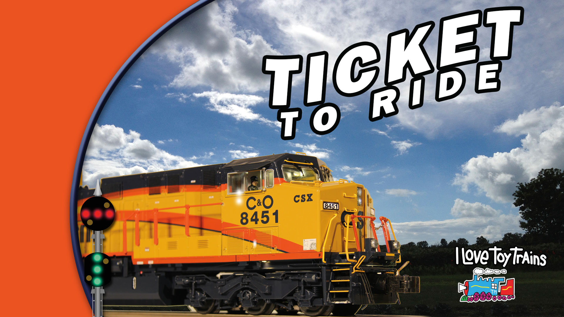 I Love Toy Trains - Ticket to Ride