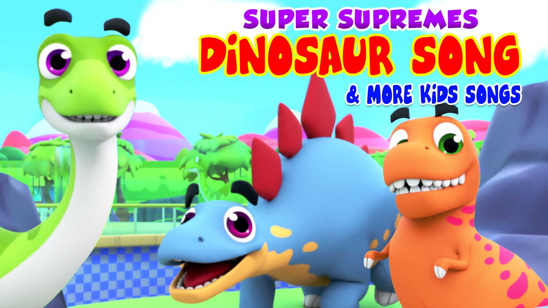 Super Supremes Dinosaur Song & More Kids Songs