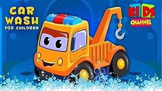 Car Wash for Children - Kids Channel