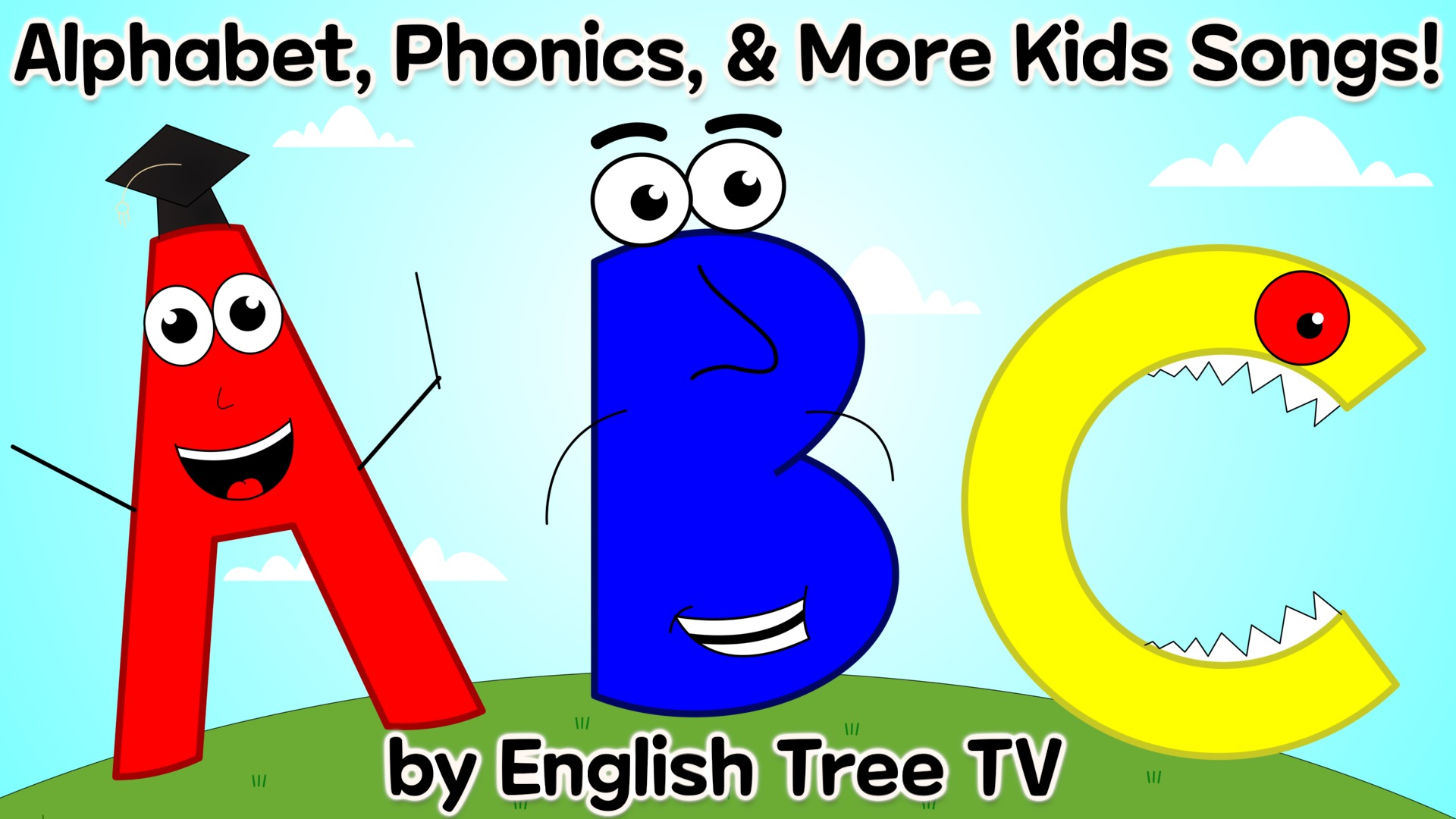 Alphabet, Phonics, & More Kids Songs! by English Tree TV