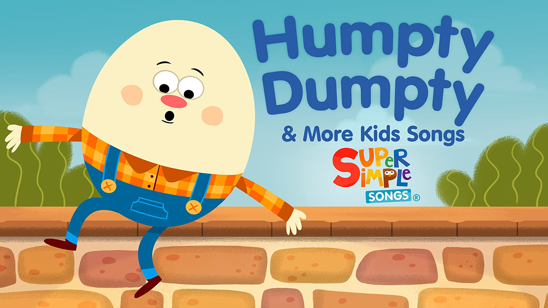 Humpty Dumpty & More Kids Songs - Super Simple Songs