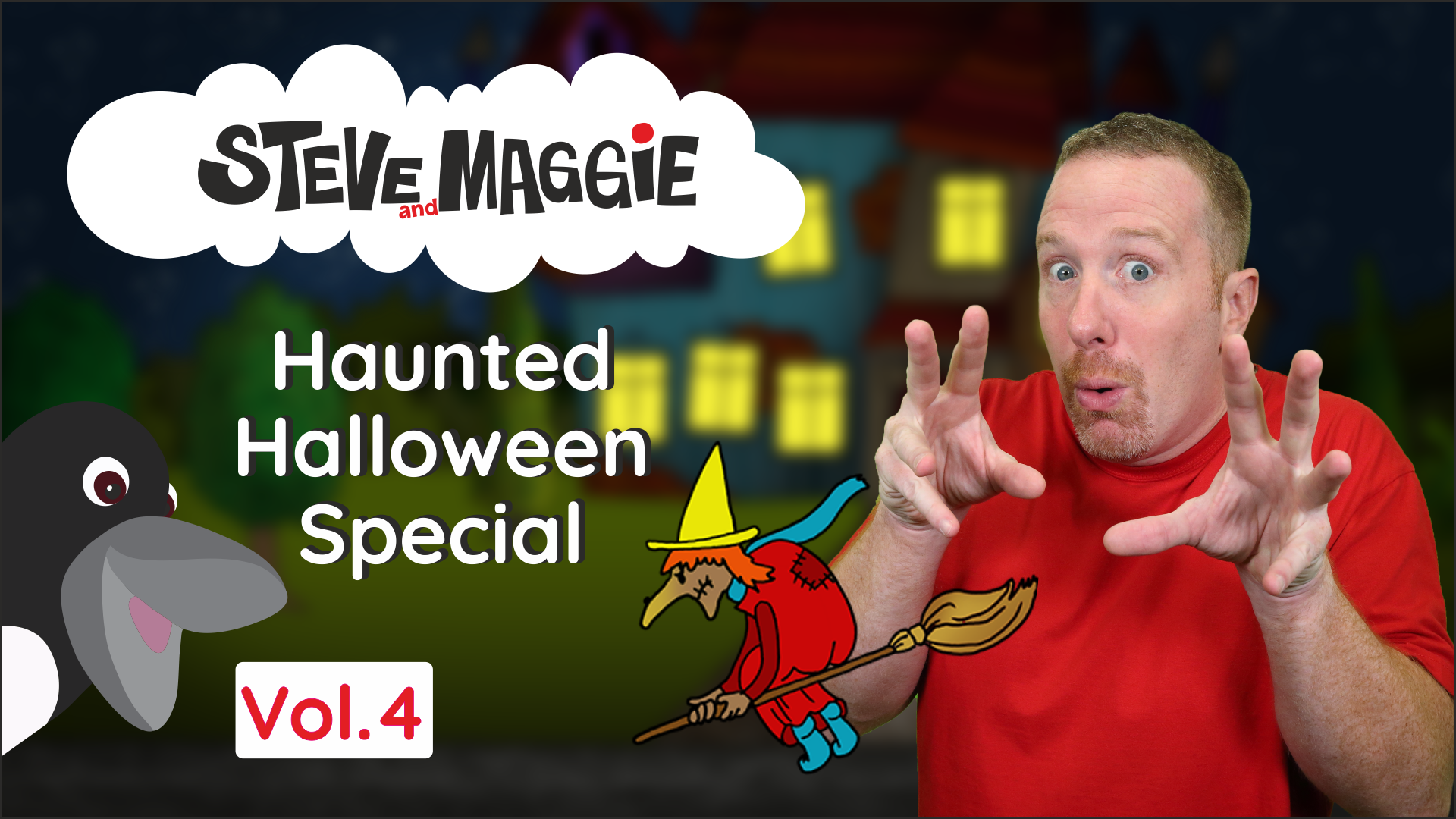 Steve and Maggie - Haunted Halloween Special (Vol. 4)