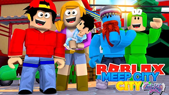 Roblox Meep City Our Homes New Furniture Meepcity Watch Clip Roblox Meepcity City With Little Kelly Prime Video