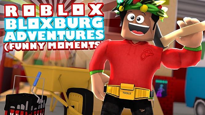 Amazon com: Watch Clip: Roblox Bloxburg Adventures (Funny