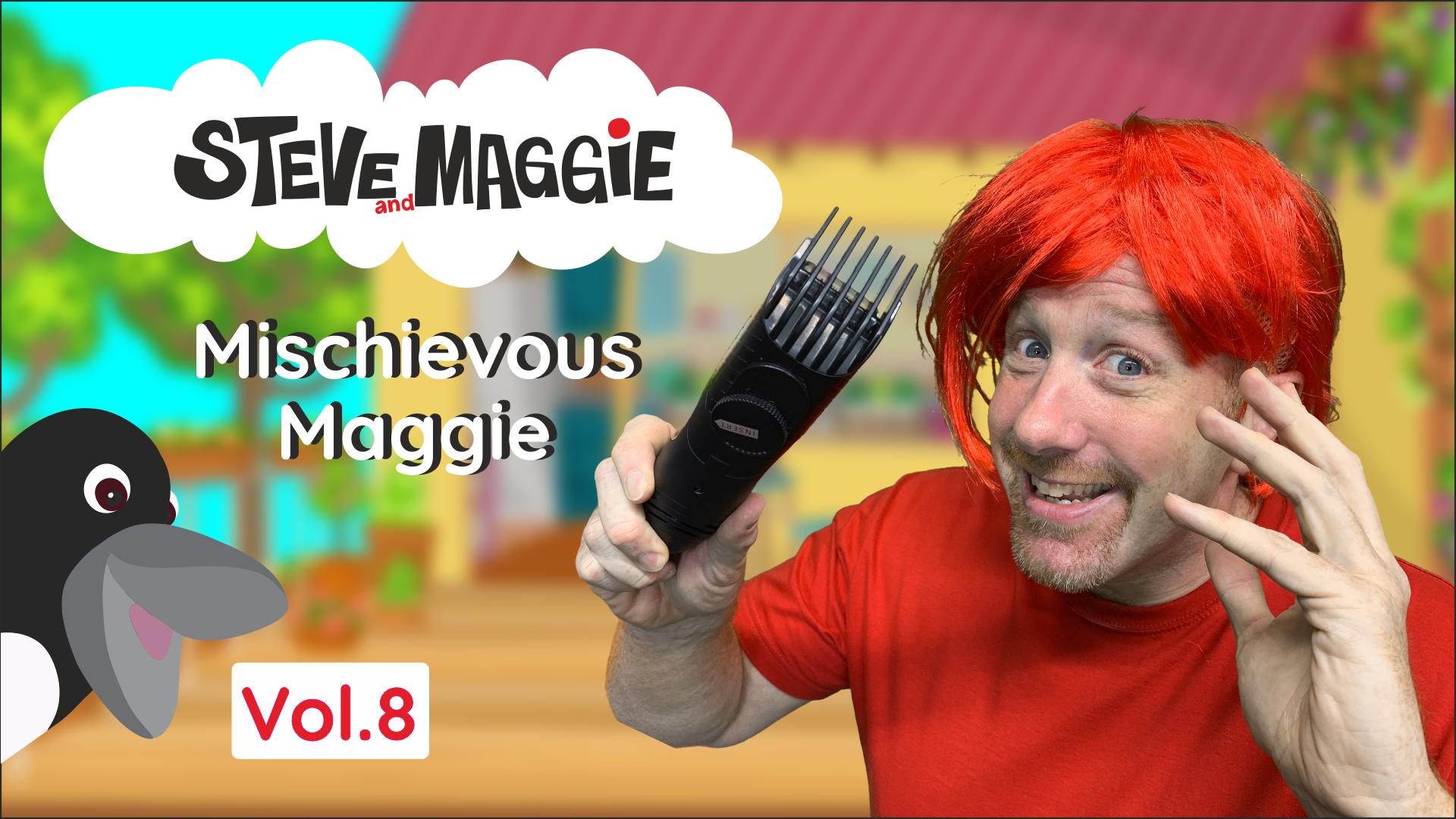 Steve and Maggie - Mischievous Maggie (Vol. 8)