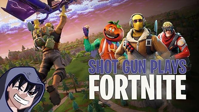 Watch Clip: Shot Gun Plays Fortnite | Prime Video